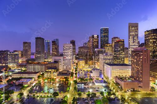 obraz PCV Houston Texas Skyline