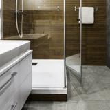 Glass shower cabin - 113420624