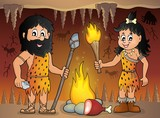 Cave people theme image 1