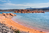 Sand Hollow State Park in  Utah