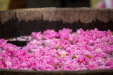 Fermenting rose water