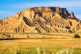cliff at  desert landscape of Navarra