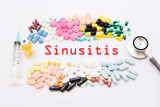 Drugs for sinusitis treatment