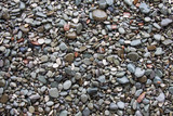 Stones pebble background. Beach rocks