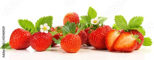 Erdbeeren - Panorama - 113468429