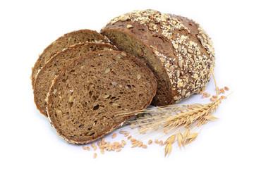 Brot Laib Getreide