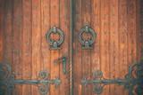 Old door detail - 113486889