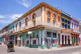 Colorful buildings in Havana, Cuba