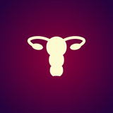 female uterus icon