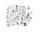 set icone casa e arredamento