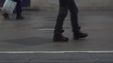 Rapid video of pedestrian street, shot at 120 fps