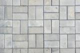 Stone patio tiles - 113598638