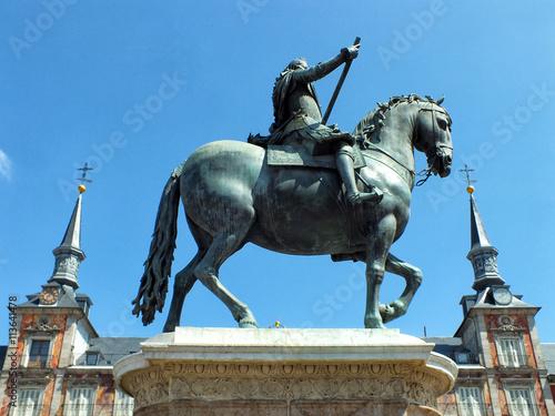 Zdjęcia na płótnie, fototapety, obrazy : Estatua de Felipe III