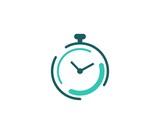 Clock logo - 113654874