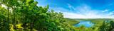 Panorama Rursee in der Eifel