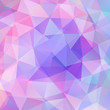 abstract background consisting of pink, blue triangles