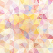 abstract background consisting of pastel pink, yellow, white triangles