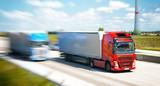 Transport von Waren mit LKW