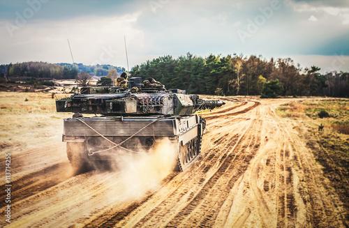 Kampfpanzer Poster