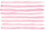 Fototapety Pink watercolor striped background