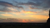 Time-lapse footage of sun setting over Phoenix, Az from Papago Park