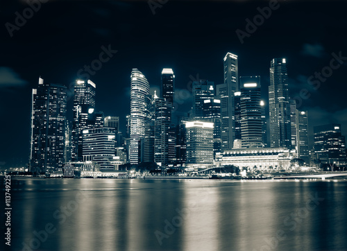 Skyscraper Cityscape Poster