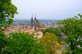 Brno day time old city landscape