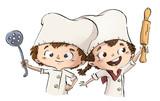 niños cocineros