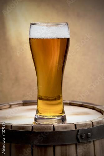 beer glass of beer Poster