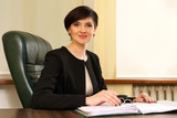 successful business woman in the office - 113818877