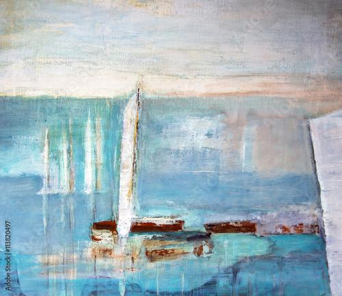 Segelboote © G. Wahl