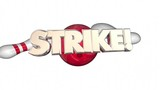 Strike Word Bowling Ball Pins Win Game 3d Animation