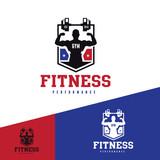 Fitness logo,GYM logo,sport logo,vector logo template.