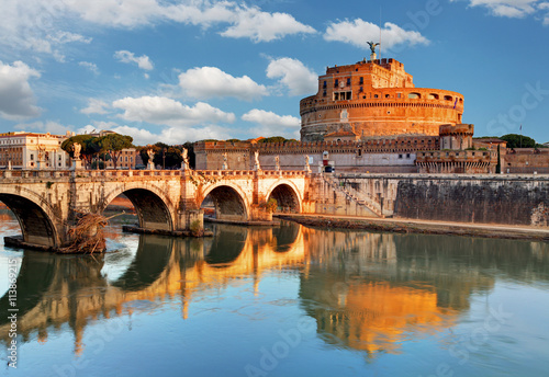 Tuinposter Rome Angelo Castel - Rome, Italy