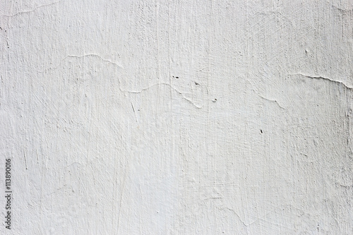 Poster Stucco white wall background or texture
