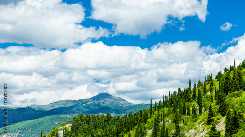 Zdjęcia na płótnie, fototapety, obrazy : photo of the mountains