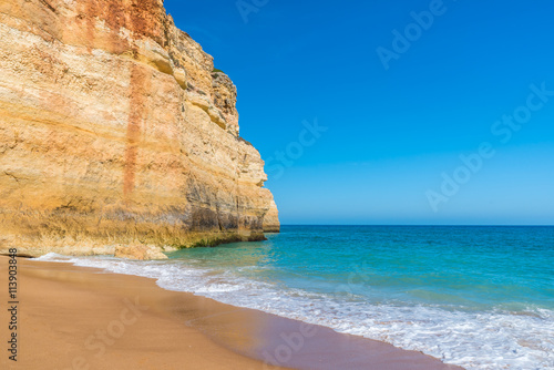 Praia de Benagil -  beautiful beach and coast in Portugal, Algarve