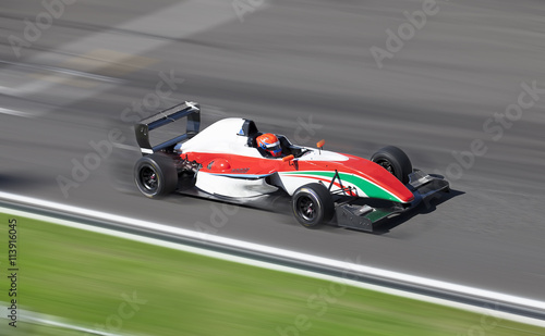 Fototapeta Formula 2 racing car