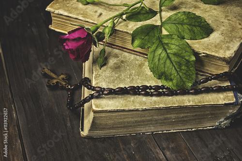 Zdjęcia na płótnie, fototapety, obrazy : rose cross
