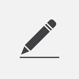 pencil icon, edit sign - 113970404