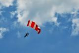 yamaç paraşütü ile gökyüzünde