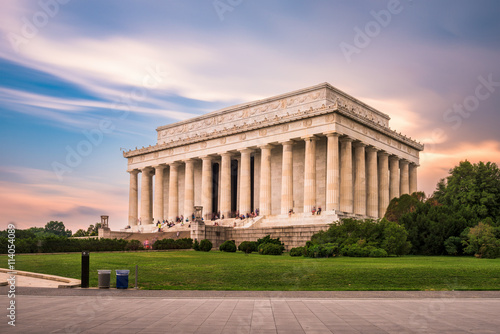 The Lincoln Memorial Плакат