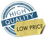 High quality, low price