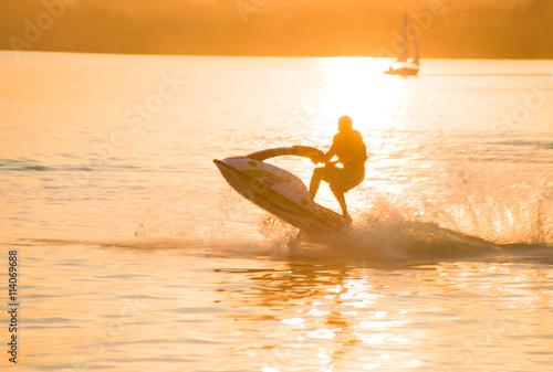 Papiers peints Nautique motorise Jet Boat