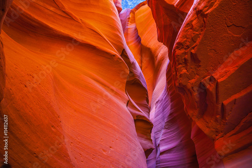 Red and purple hues Upper Antelope Canyon