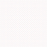 Red Dots White Background Vector Illustration