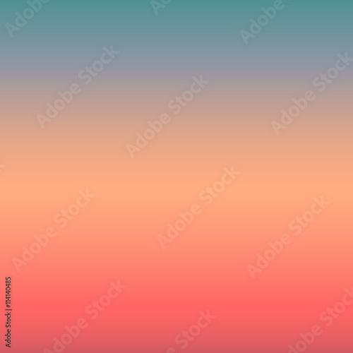 Fototapeta sunrise/sunset abstract vintage background - colorful smooth gradient vector illustration design