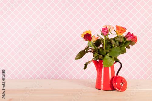 Zdjęcia na płótnie, fototapety, obrazy : Colorful bouquet roses