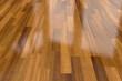 Dark wood parquet floor, background - 114224239