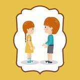 pair of children design